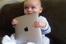 100个受访家庭中 73%的孩子仅用iPad玩游戏