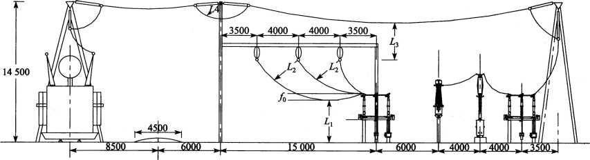 某新建电厂一期安装两台300MW机组,采用发电机一变压器单元接线接入厂内220kV屋外中型配电装置,配电装置采用双母线接线。在配电装置架构上装避雷针进行直击雷保护,其海拔高度不大于1000m。主变中性点可直接接地或不接地运行。配电装置运置了以水平接地极为主的接地网,接地电阻为,配电装置(人脚站立)处的土壤电阻率为。
