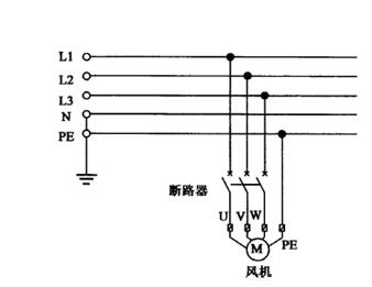 水泵二次接线图分析