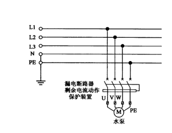 c.单相插座接线示意图